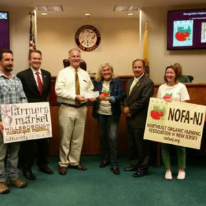 NOFA-NJ Check Presentation