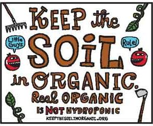 Rally: Keep The Soil In Organic