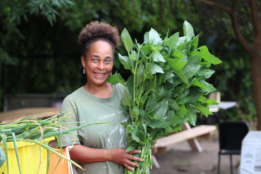Nataka Crayton, Urban Farming Institute