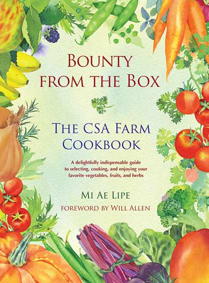 Ever wonder what to do with your CSA box?