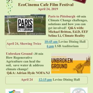 EcoCinema Cafe Film Festival at DelVal
