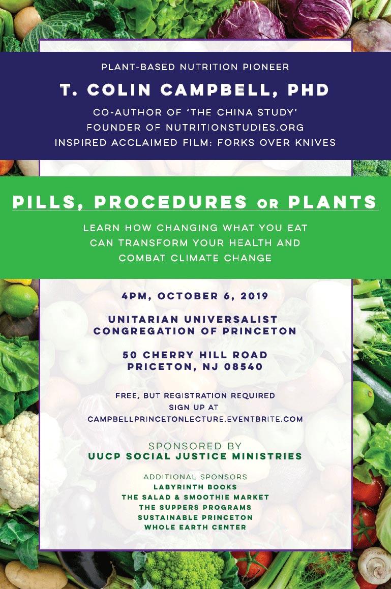 Pills, Procedures or Plants