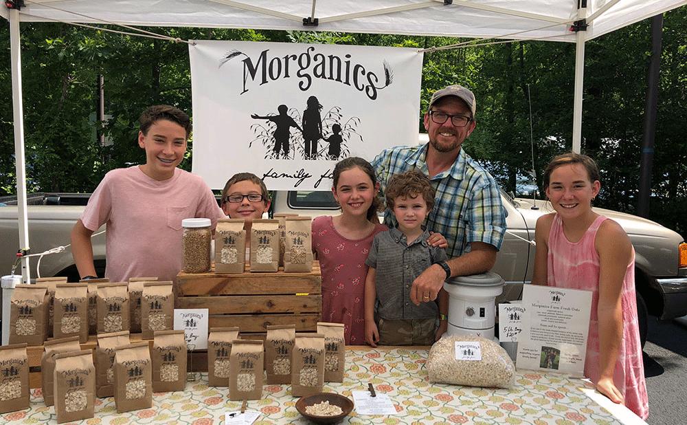 Scott Morgan, Morganics Family Farm