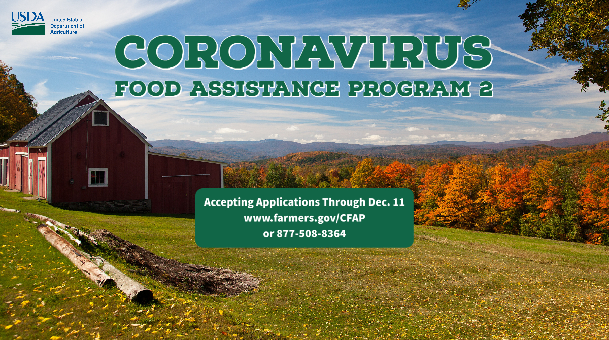 Application for Coronavirus Food Assistance Program is Open!
